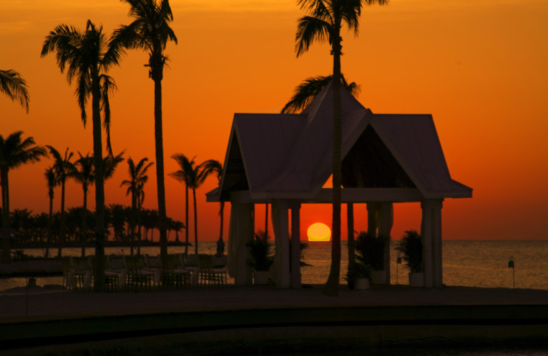 Beautiful sunsets at Tranquility Bay Beach House Resort.