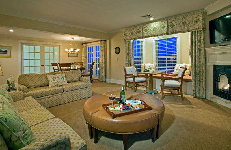 Guest suite at Mountain View Grand Resort.