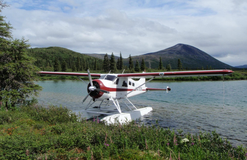 Boat plane at Fishing at All Alaska Outdoor Lodge.