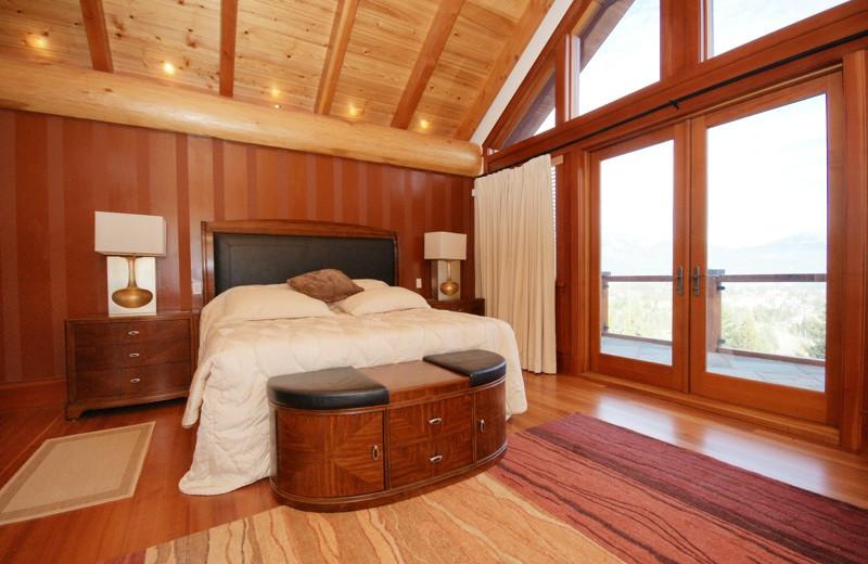 Rental bedroom at Aloha Whistler.