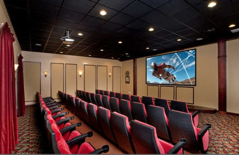 Resort theater at Vacation Pool Homes.