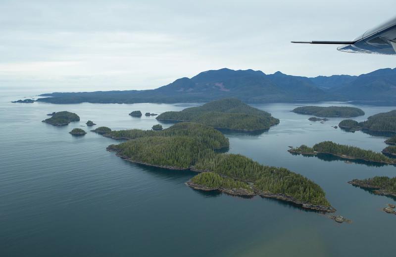 Islands at Nootka Wilderness Lodge.