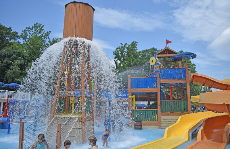 Water park at Yogi Bear's Jellystone Park Quarryville.