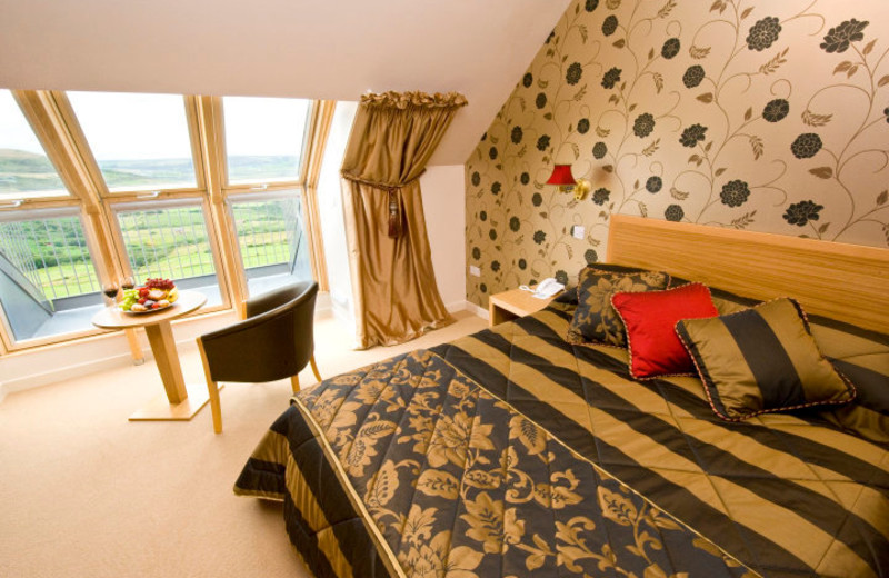 Guest room at Raven Hall Country Hotel & Golf Course.