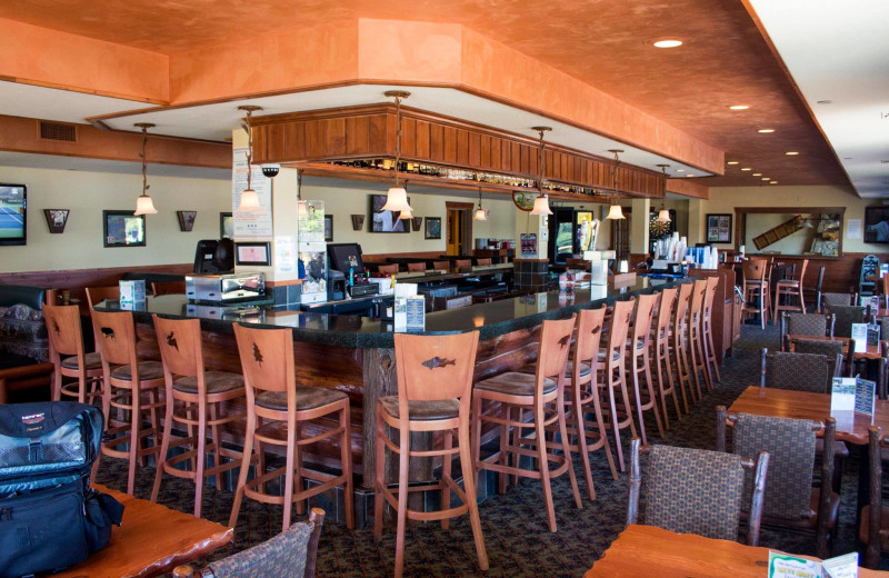 Bar at Big Sandy Lodge & Resort.