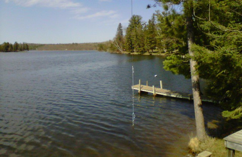 Howard Lake at Moore Springs Resort.