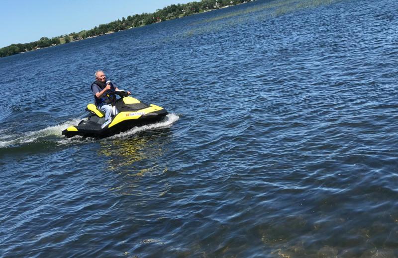 Lake view at Betsy Ross Resort.