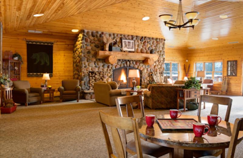 Lobby Area at Sugar Lake Lodge