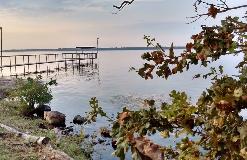 Lake view at Lake Fork Ranch Resort.