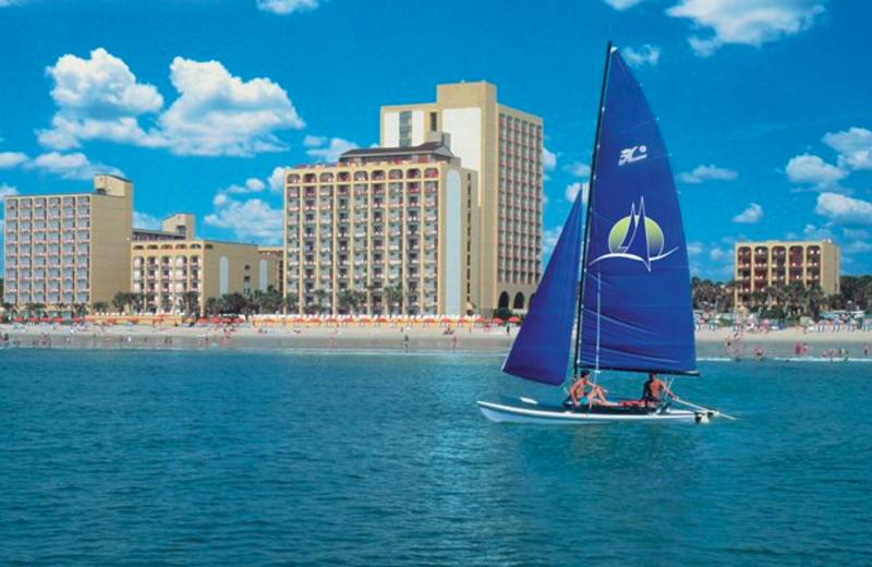 Resort View at Sea Mist Oceanfront Resort