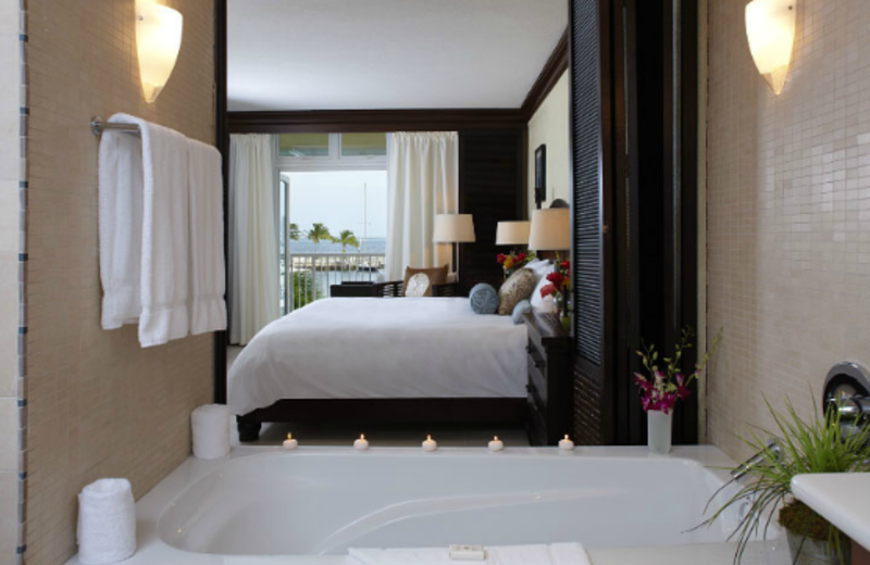 Guest room at Abaco Beach Resort & Boat Harbour.