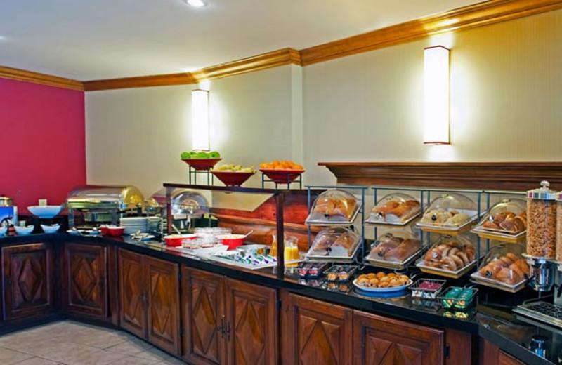 Breakfast buffet at Residence Inn Mont Tremblant Manoir Labelle.