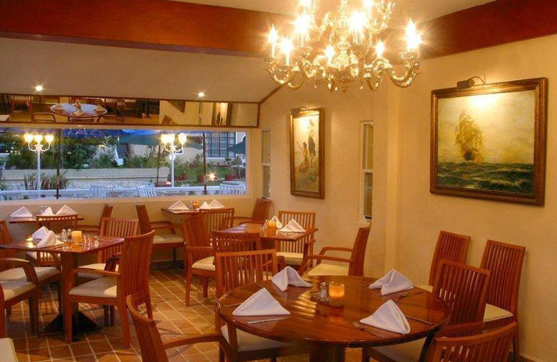 Dining at Villablanca Garden Beach.