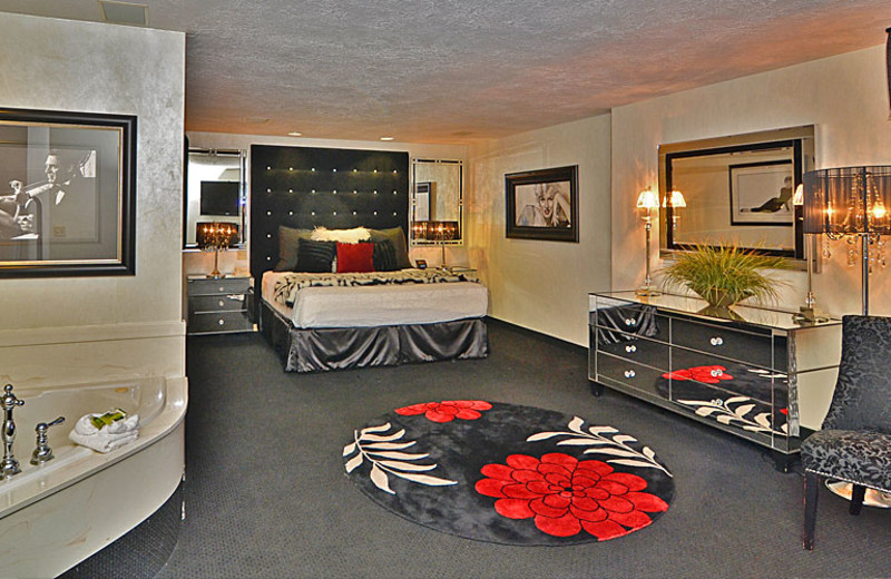 Spa suite at The Best Western Abbey Inn Hotel.