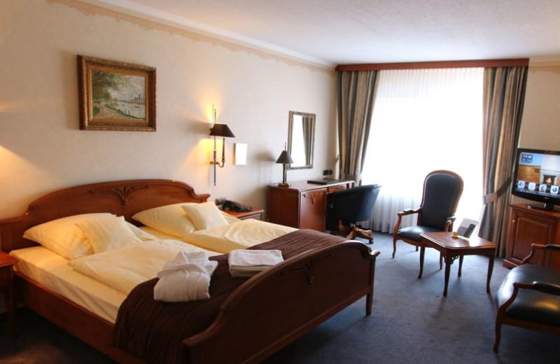 Guest room at Eden Hotel.