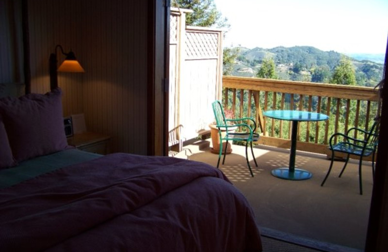 Guest room at Mountain Home Inn.