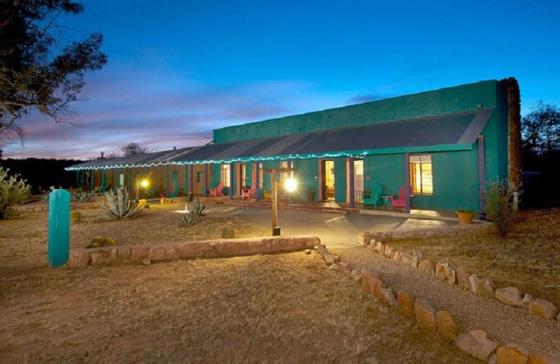 Exterior view of Rancho de la Osa Guest Ranch Resort.
