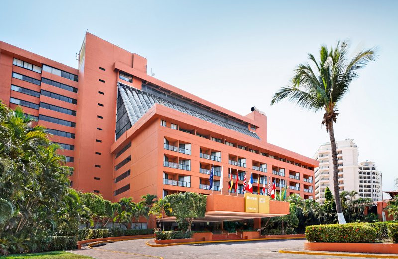 Exterior View of  Barcelo Ixtapa Beach