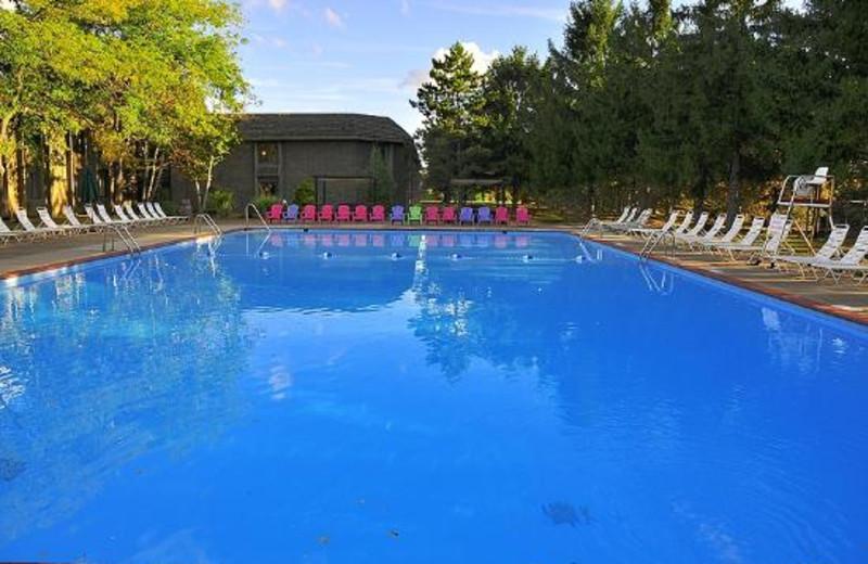 Pool view at Sawmill Creek Resort.