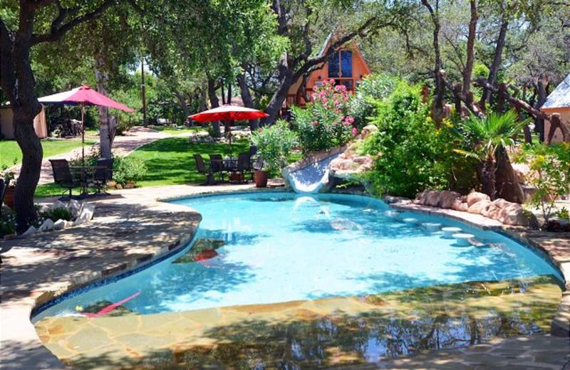 Rental outdoor pool at Lake Travis & Co.