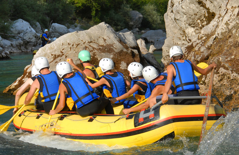 Rafting at Cedar House Sport Hotel.