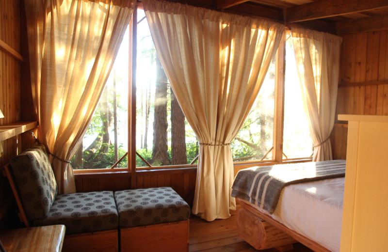 Guest room at Cabana Desolation Eco Resort.