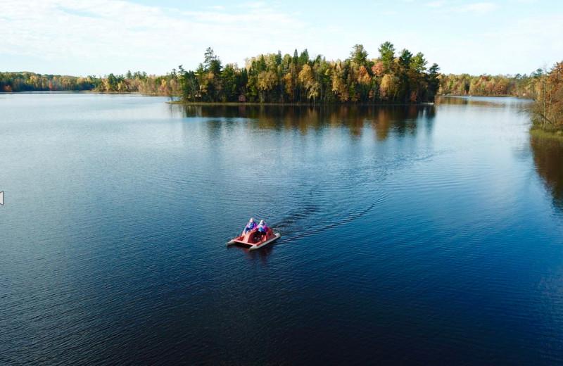 Lake at Hanging Horn Lakeside Resort.