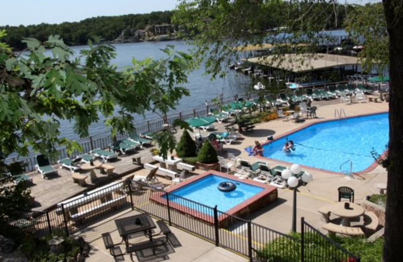 Pool Area at Summerset Inn Resort
