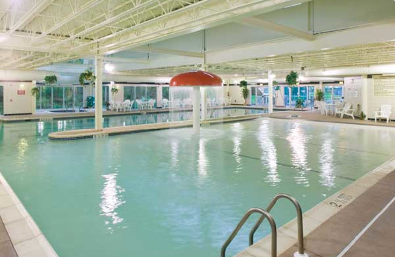 Indoor pool at Wyndham Vacation Resorts Shawnee Village.
