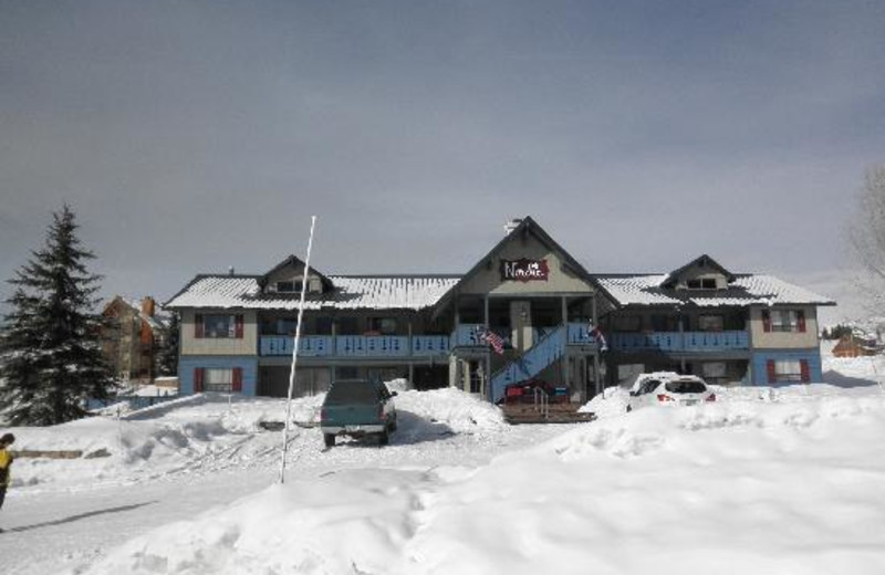 Winter time at The Nordic Inn.