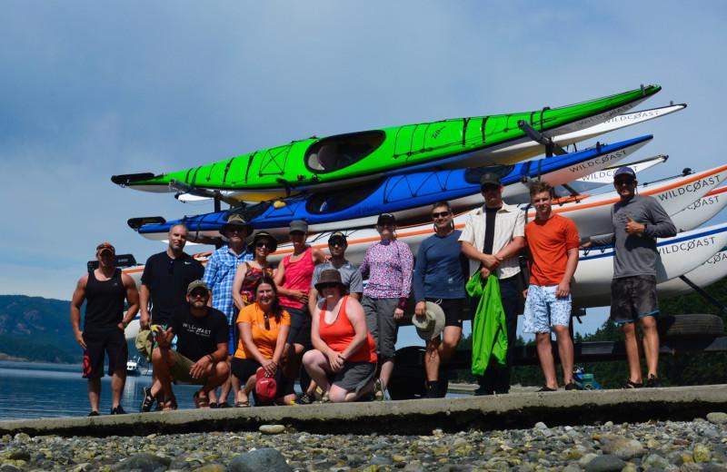 Group at Orca Camp.