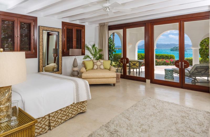 Guest room at Cap Juluca.