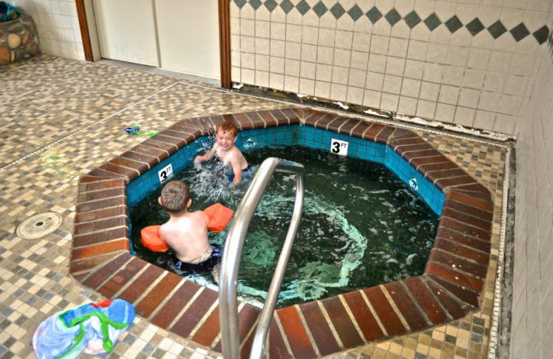 Hot tub at Sawtelle Mountain Resort.
