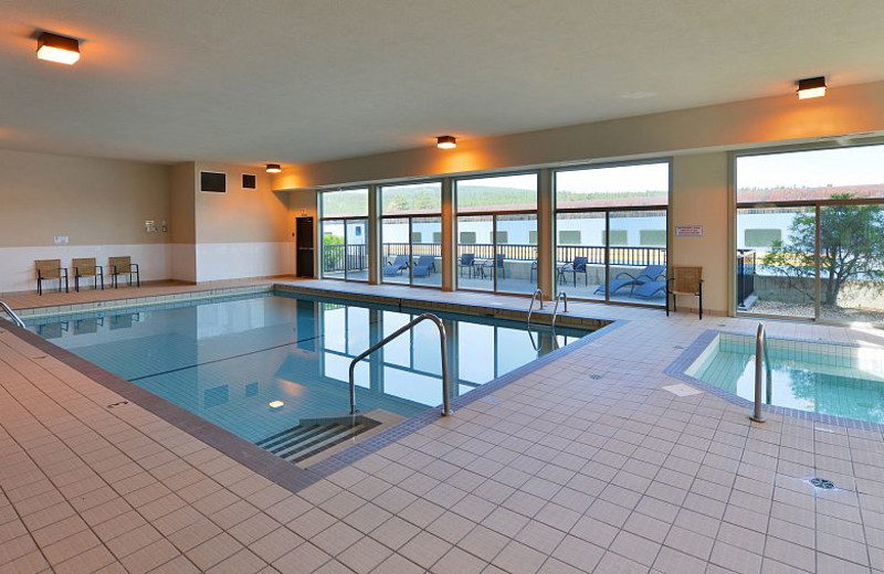 Indoor pool at The Prestige Rocky Mountain Resort.