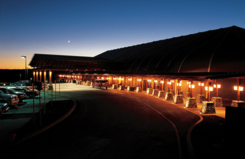 Exterior view of River Rock Casino.