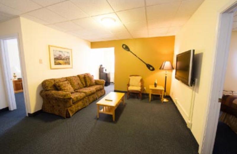 Suite Interior View at Adventure Inn