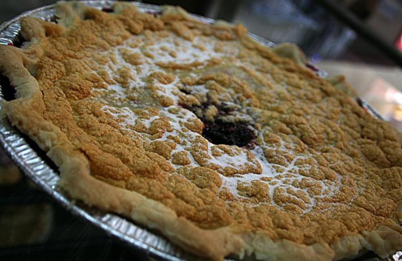 Bumbleberry pie at Bumbleberry Inn.