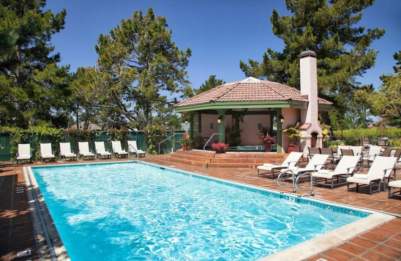 Outdoor pool at Half Moon Bay Lodge, Best Western Plus.