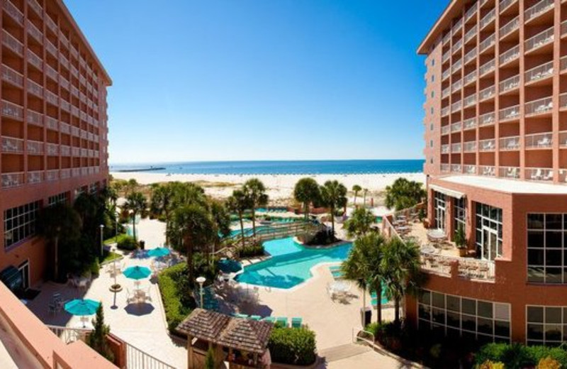 Exterior view at Perdido Beach Resort.
