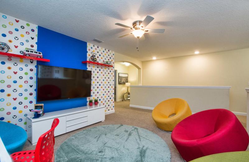 Rental loft at Vacation Pool Homes.