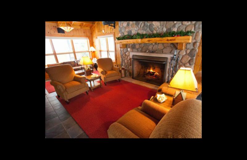 Lobby view at Chippewa Retreat Resort.