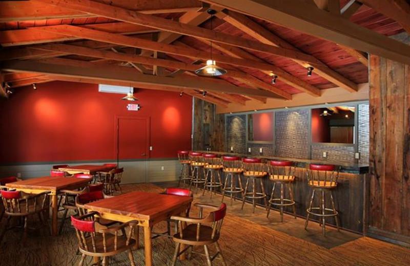 Lounge at Sojourn Lakeside Resort.