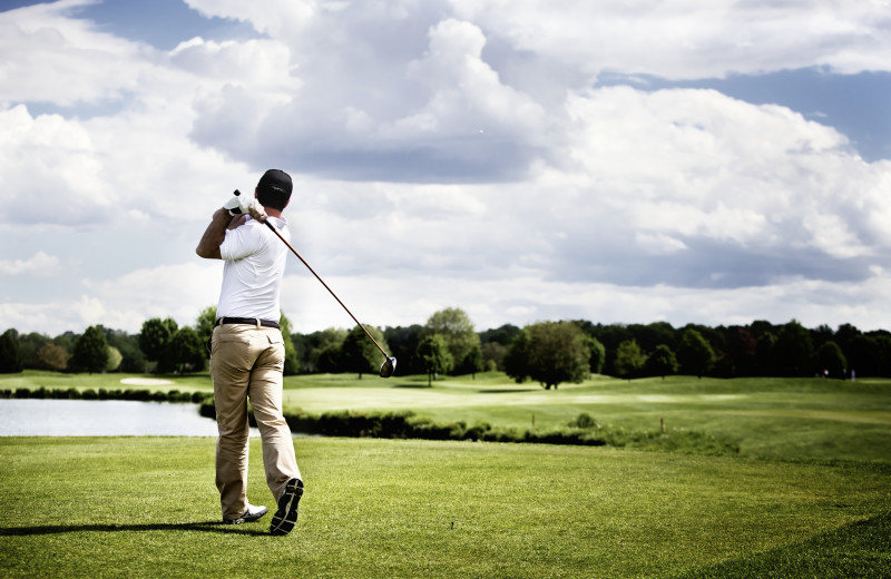 Golf course near The Sullivan.