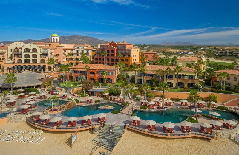 Exterior view of Sheraton Hacienda del Mar Resort & Spa.