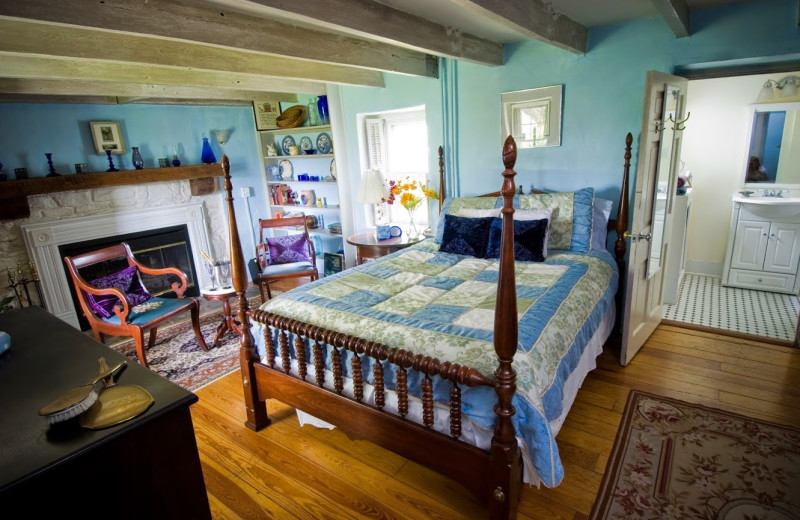 Guest room at Briar Patch Bed & Breakfast Inn.