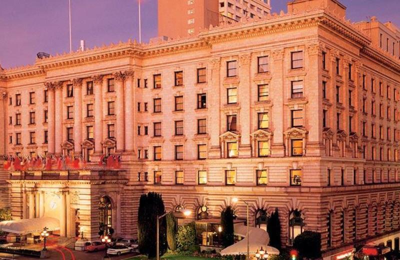 Exterior view of The Fairmont San Francisco.