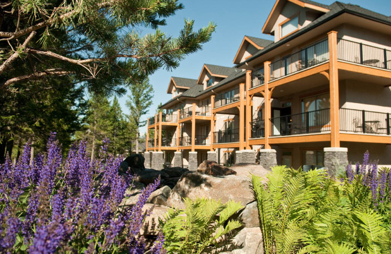Exterior view at Bighorn Meadows Resort.