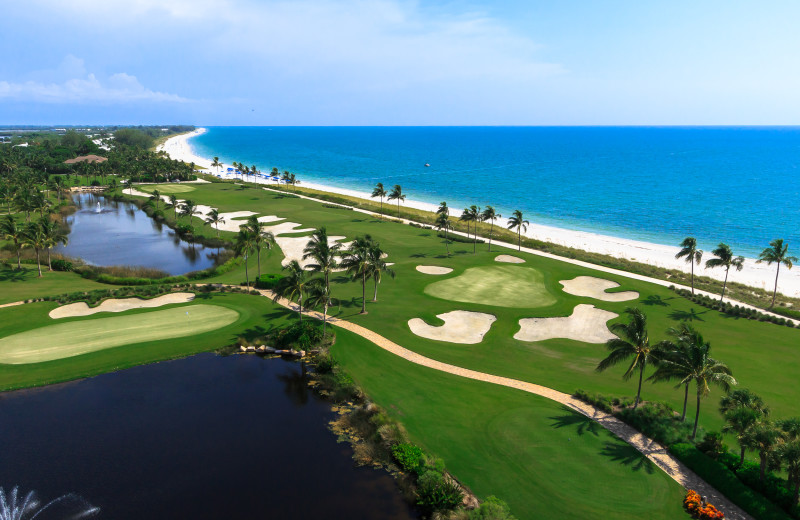 Golf course at South Seas Island Resort.