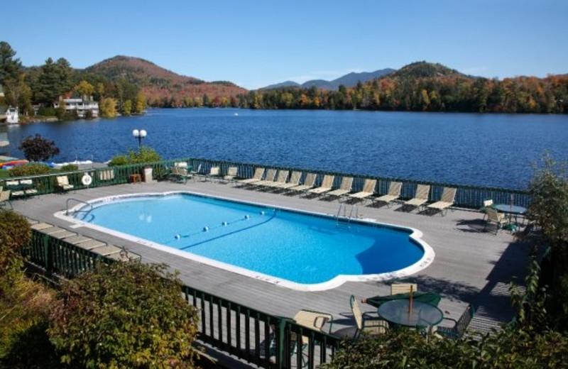 Outdoor Pool at High Peaks Resort
