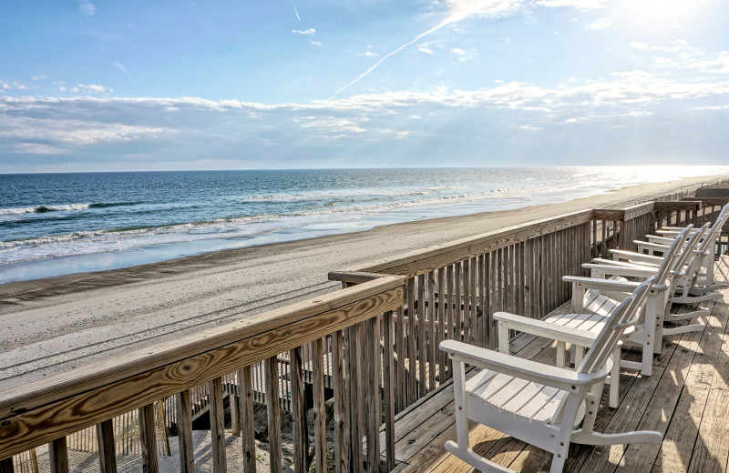 Beach view at Access Realty Group.